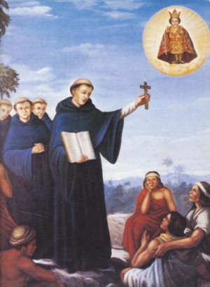 PHILIPPINE EVANGELIZATION PIC - AUGUSTINIANS PREACHING THE FAITH 1565